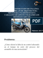 Linea de Ensambalje Motocicleta Caballito