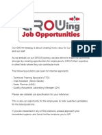 Job Openings at East-West