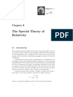 The Special Theory Relativity