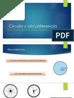 Círculo y Circunferencia Clase