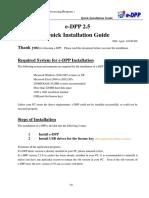 EDPPv250 Install (English)