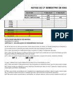 Calculos de Notas Da Faculdade Maurc3adcio de Nassau by Ernani David1