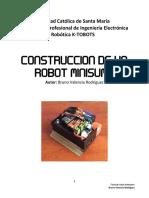Construcción de Un Robot Minisumo de Competencia