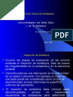 Discontinuidades - Inspección de Soldadura - 01