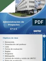 Administración de Proyectos 17-1-1