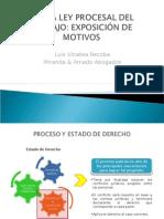 Nueva Ley Procesal del Trabajo - Exposición de motivos.
