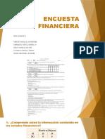 ENCUESTA FINANCIERA