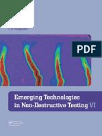Emerging Technologies in Non-Destructive Testing VI - D.G. Aggelis Et Al. (CRC, 2016)