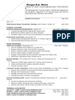 morse morgan resume feedback 5-5-17
