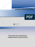 Prevencion de Accidentes en Gammagrafia Industrial