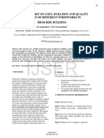 A Study Report on Cost Duration and Quality Analysis of Different Formworks in High Rise Building