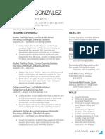 weebly resume - anna gonzalez - google docs
