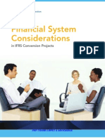 Financial Systems Considerations in IFRS Conversion Projects