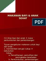 MAKANAN BAYI & ANAK SEHAT.ppt