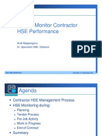 16 How to Monitor Contractor HSE Performance - Qatalum