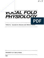 Vocal Fold Physiology