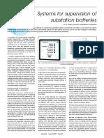 Areva Battery Monitor