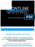 2017 Church Survey