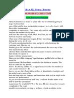 MBAA 523 Henry Clements/TUTORIALOUTLET DOT COM