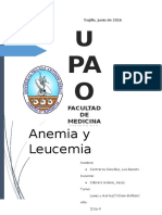 Anemia y Leucemia upao