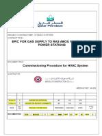 Commissioning Procedure for HVAC SYSTEM (QP)24-02