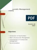 Beaureaucratic Management Presentationfr