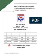 01 6261 ELV Technical Specs for Elevators R1dfvrgdvfe