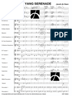YIN YANG SERENADE by Jacon de Haan- Score and Parts