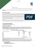 DNV Class Notations