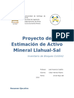 Proyecto de Estimación de Activo Mineral Llahual.docx