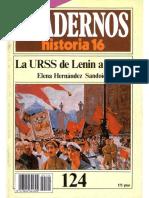 Cuadernos De Historia 16 124 La Urss De Lenin A Stalin 1985.pdf