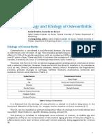 Pathophysiology and Etiology of Osteoarthritis