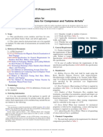 A1028-03(2015) Standard Specification for Stainless Steel Bars for Compressor and Turbine Airfoils
