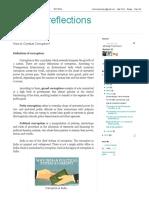 Vishnu_reflections_ How to Combat Corruption
