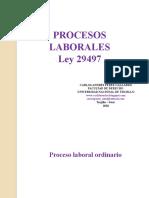 Procesos Laborales - Ley 29497