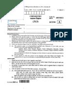 313 Chemistry Sr Secondary Paper 2014