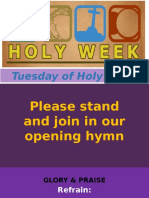Holy Tuesday Mass