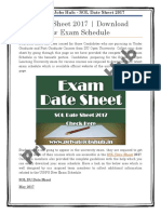 SOL Date Sheet 2017 Download UG,PG New Exam Schedule.pdf