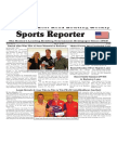 May 10 - 16, 2017  Sports Reporter