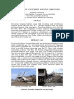 Perkembangan Perencanaan Bangunan Tahan Gempa