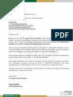 Surat Permohonan PT.pertamina