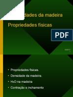 Propriedades Fisicas Madeira