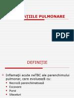 SUPURATII PULMONARE