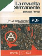 Porcel, Baltasar - La Revuelta Permanente [Anarquismo en PDF]