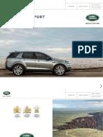 Land Rover Discovery Sport Brochure 1L5501700000BXMEN01P Tcm307 368224