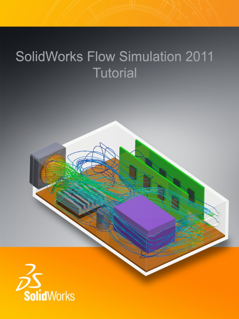 Solidworks Flow Simulation 2011   Laminar Flow   Fluid Dynamics