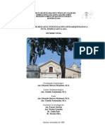 Arqueología de Rescate e Investigación Osteoarqueológica en el Templo Santa Ana