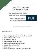 Formation Iso 9001 Version 2015 v1.0