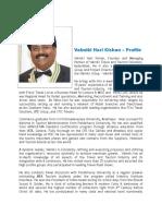 Valmiki Hari Kishan - Profile