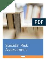 Suicidal Risk Assessment